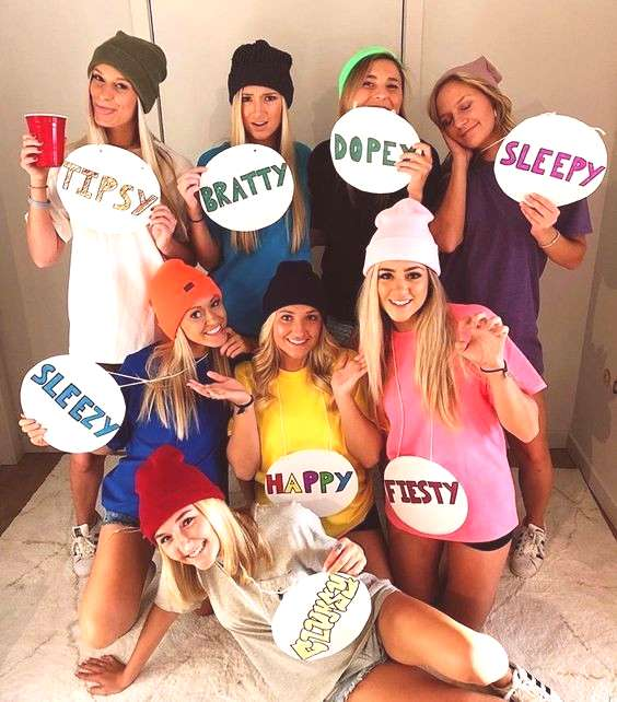 35 Cutest, Craziest amp Coolest Group Halloween Costumes for your Girl Squad - Hike n Dip