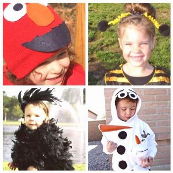 18 Cute Homemade Halloween Costumes for Toddlers