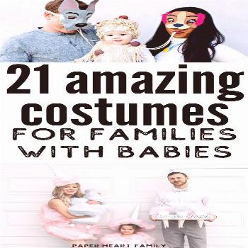 21 Mom, Dad And Baby Halloween Costumes Amazing mom, dad and baby costumes (that will work with mul