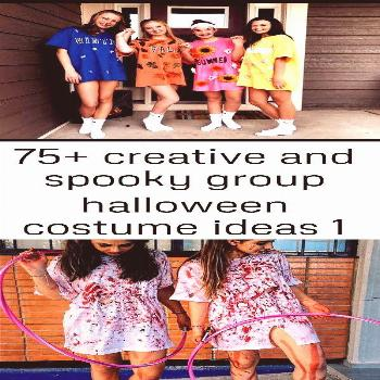 75+ creative and spooky group halloween costume ideas 1 Halloween costume with your friends! 91 Hal