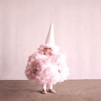 Amazing DIY Cotton Candy Costume for Kids. Get the step by step details to make this cute and playf