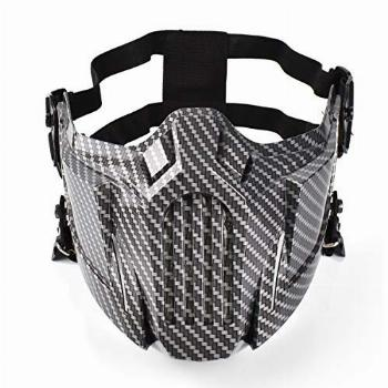 Anyoupin Airsoft Mask Creative Protective Half Face Mask for