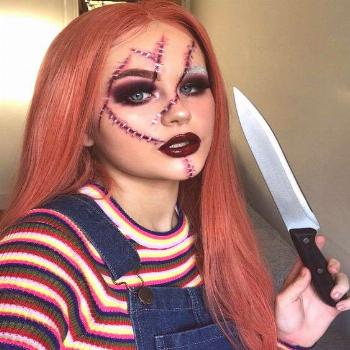 Cooler Halloween Photos 2019 - Best Halloween Make-Up to Try Out - Beradiva