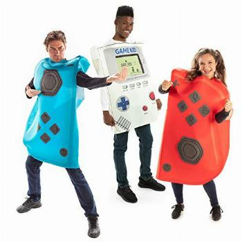Gaming Controllers Group Halloween Costume - Unisex Video