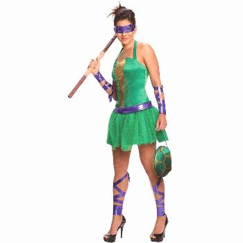 Halloween Rubie's Teenage Mutant Ninja Turtles Female Donatello Adult Costume X Small, Women's, Siz