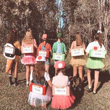 If you decide to dress up with your friends this Halloween, then consider getting creative and maki