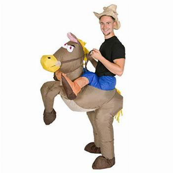 Inflatable Cowboy Costume for Adults