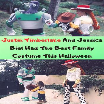 Justin Timberlake And Jessica Biel Had The Best Family Costume This Halloween  Justin Timberlake An