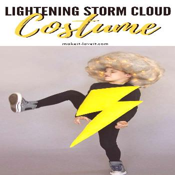 Lighting And Storm Cloud Costume