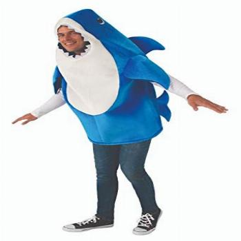 Rubies Adult Daddy Shark Costume with Sound Chip, Standard