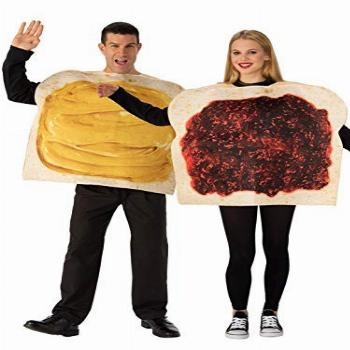 Rubie's Peanut Butter and Jelly Costume Set, As Shown,