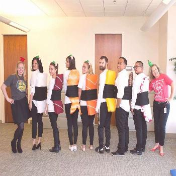 Some of the  team members served up one great group costume! Who's…