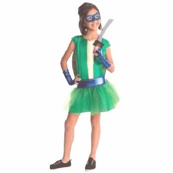 Teenage Mutant Ninja Turtles girls' costumes also available in other turtles, click for details.