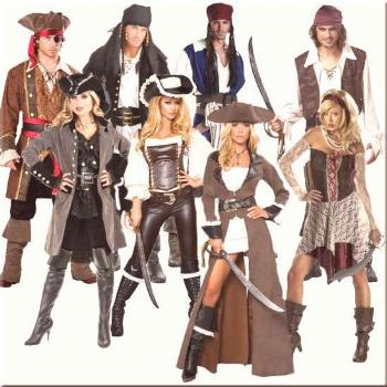 The Best Homemade Pirate Costume Ideas, makeup tutorials and videos, patterns and how-to instructio