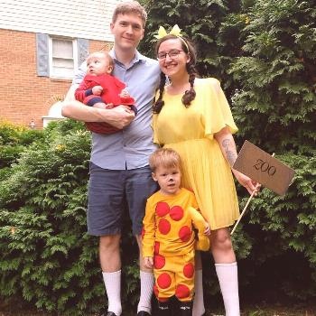 This year for #halloween we were characters from Ws favorite book