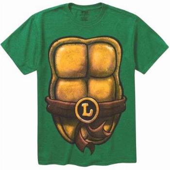Tmnt Costume Mens Short Sleeve Graphic Tee, Size: XL, Green