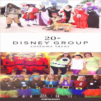 Want to take your Disney costume to the next level? This year, get a big group of friends and dress