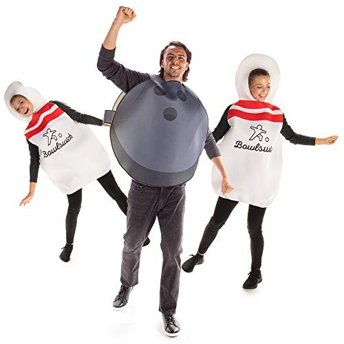 Bowling Alley Buds Halloween Group Costumes - Bowling Ball amp